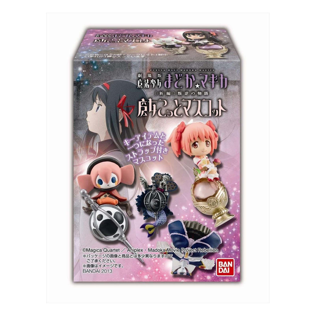Bandai Action Figures - Bandai Madoka Magica Blind Box Mini Charm Figure