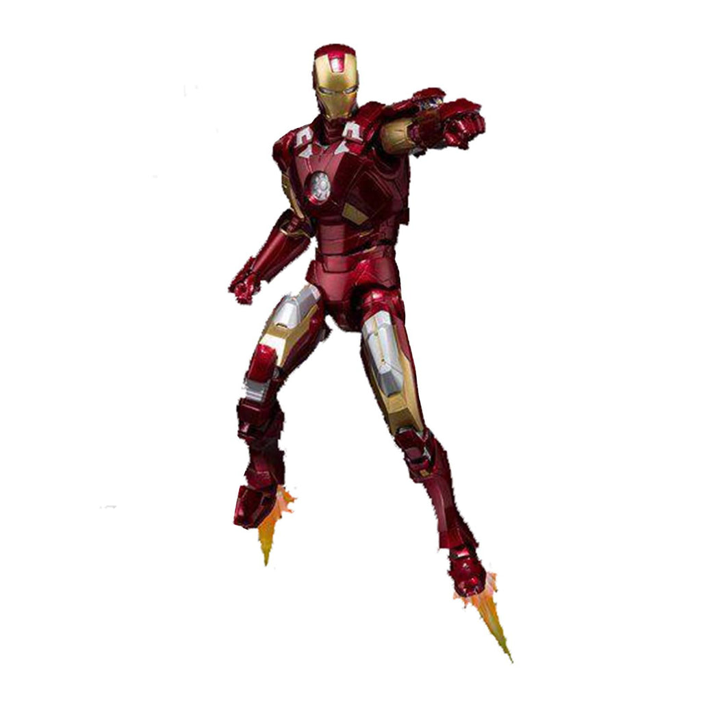 Bandai Action Figures - Bandai Marvel Iron Man Mark VII Hall Of Fame Armor Figuarts Action Figure