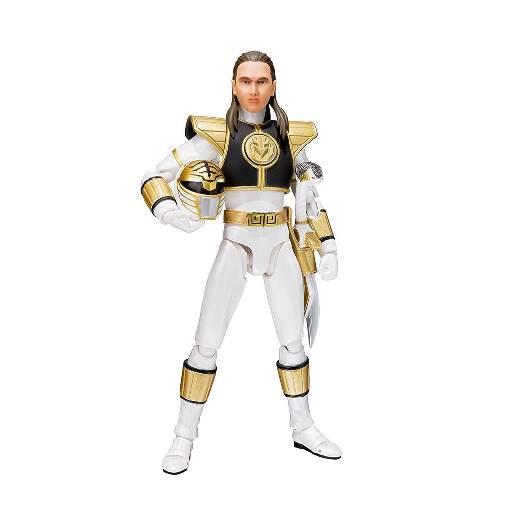 Bandai Power Rangers White Ranger Figuarts Action Figure