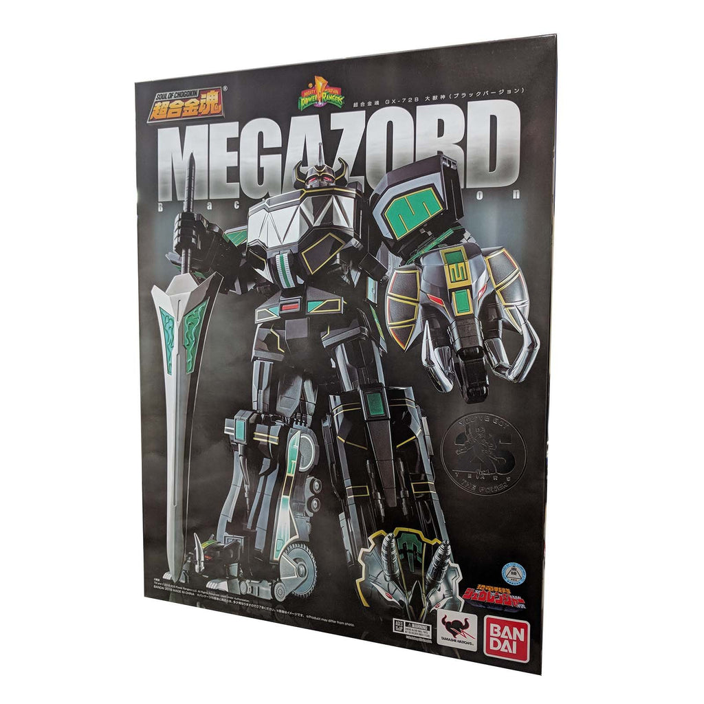 Bandai Soul Of Chogokin Power Rangers SDCC Megazord Black Version Figure