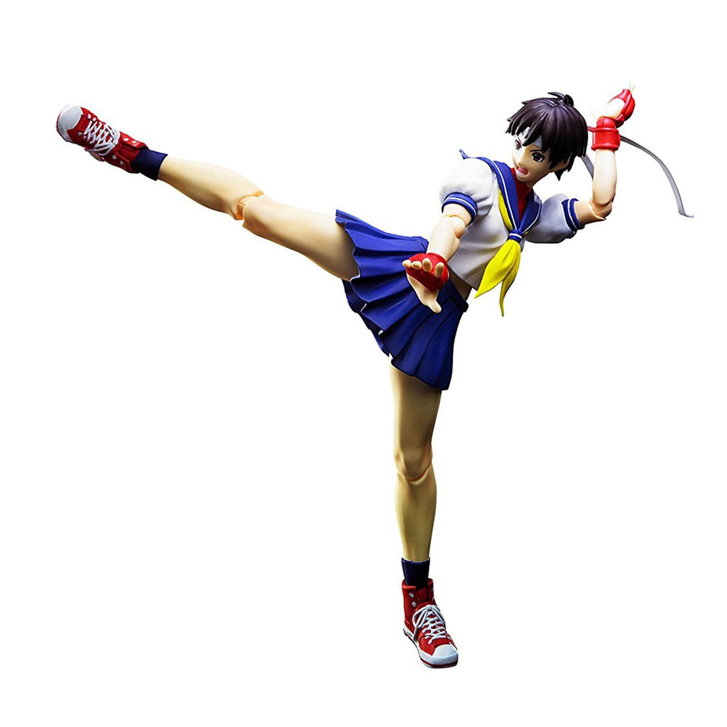 Bandai Street Fighter Sakura Kasugano Figuarts Action Figure