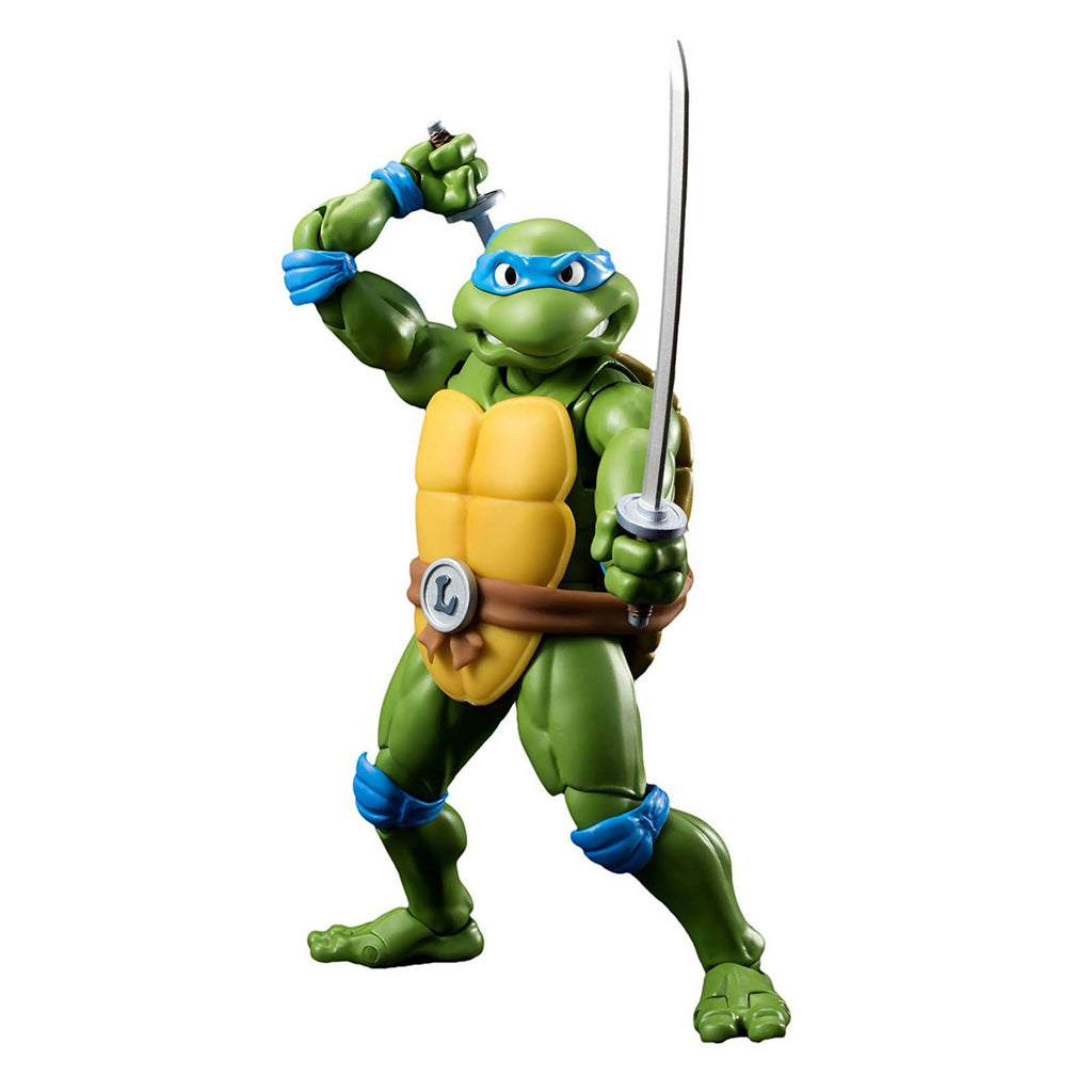 Action Figures - Bandai Tamashii Teenage Mutant Ninja Turtles Leonardo Figuarts Action Figure