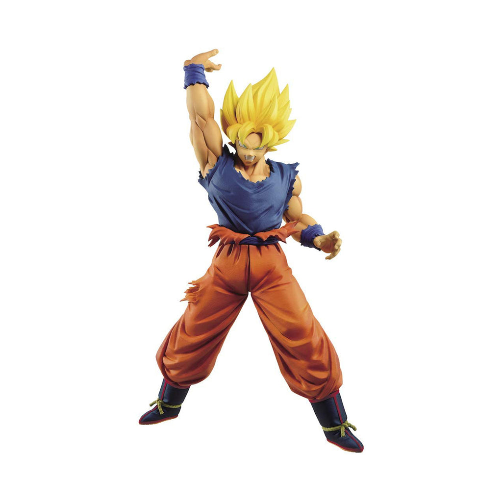 Banpresto Maximatic Dragon Ball Z Super Saiyan Son Goku Figure