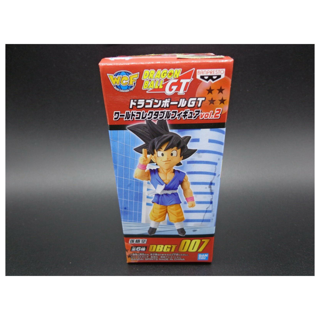 Banpresto WCF Dragon Ball GT Vol 2 Goku Mini Figure