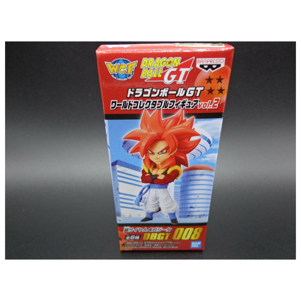 Banpresto WCF Dragon Ball GT Vol 2 SS4 Gogeta Mini Figure