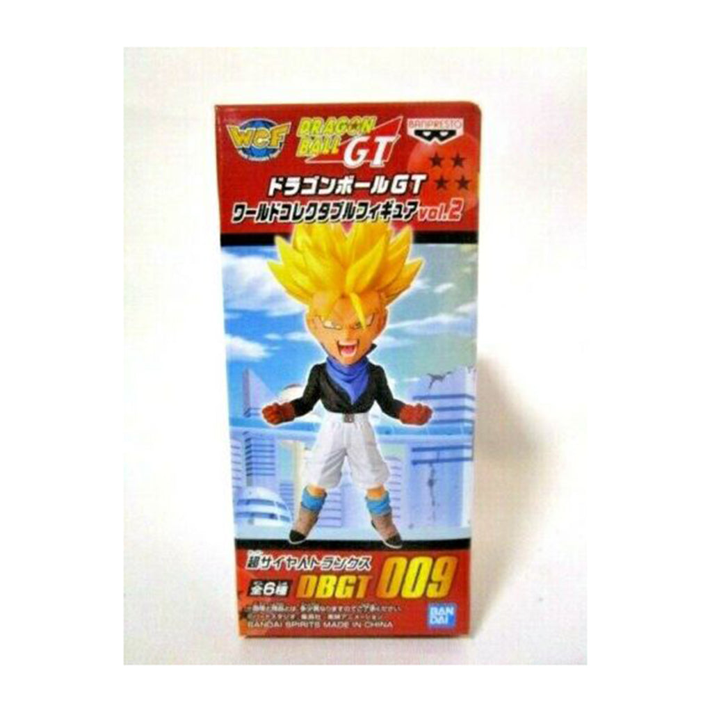 Banpresto WCF Dragon Ball GT Vol 2 Super Saiyan Trunks Mini Figure
