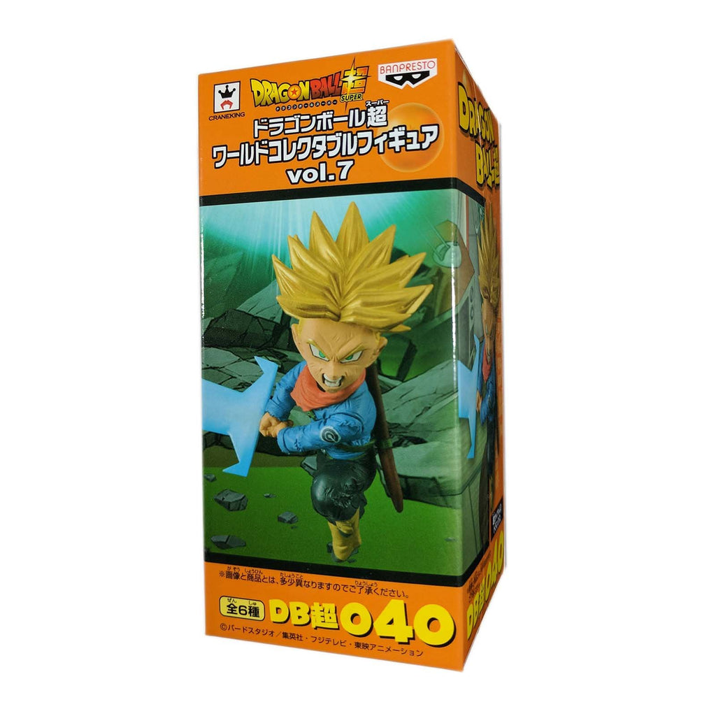 Action Figures - Banpresto Dragon Ball Z World Collectible Volume 7 SS Future Trunks Figure