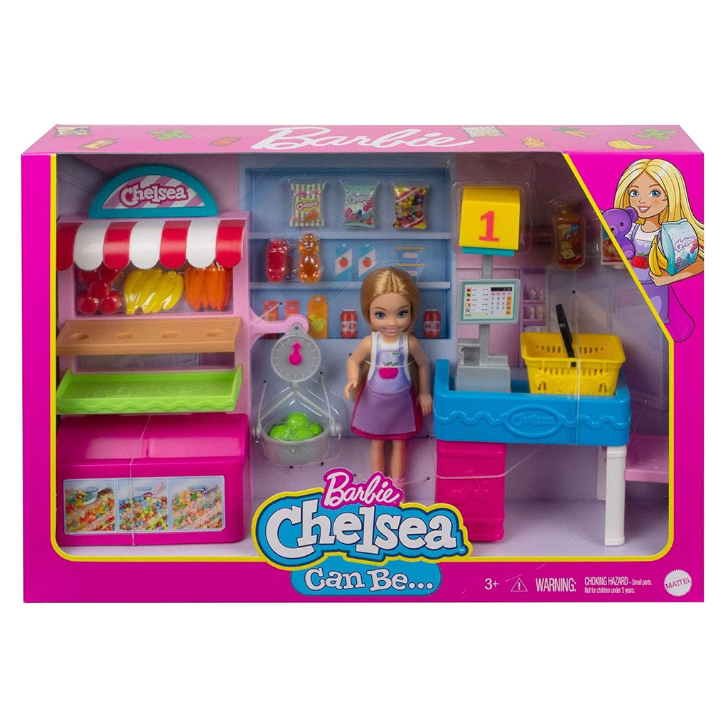 Barbie Chelsea Can Be Blonde Snack Stand Doll Set