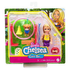 Barbie Chelsea Club Can Be Dog Trainer Play Set