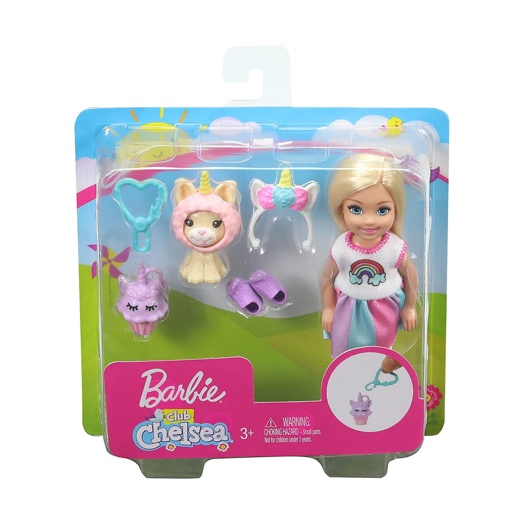 Barbie Club Chelsea Unicorn Costume Dress Up Set
