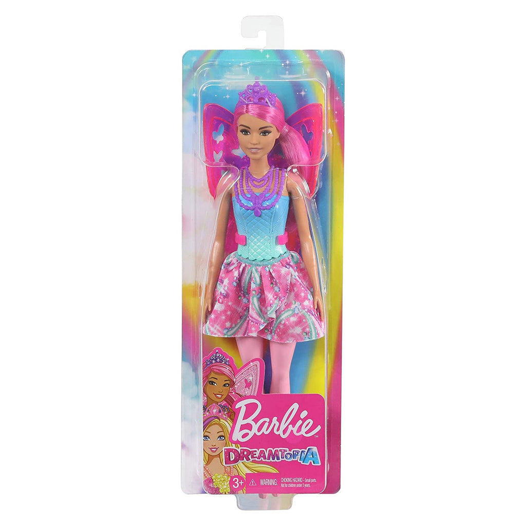 Barbie Dreamtopia Pink Hair Fairy Doll
