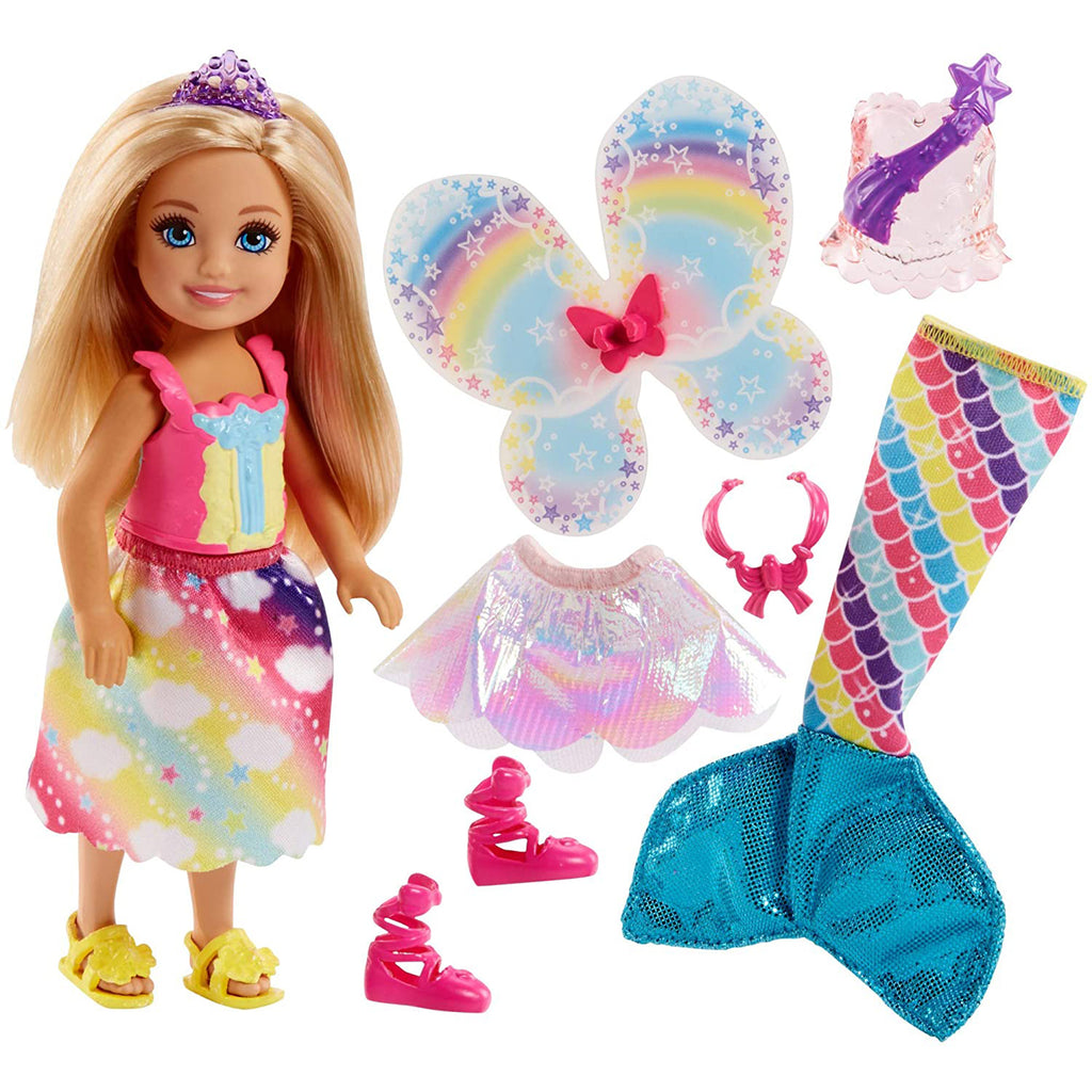 Barbie Dreamtopia Rainbow Cove Chelsea Doll