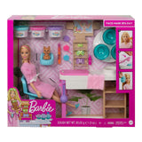 Barbie Face Mask Spa Day Blonde Play Set