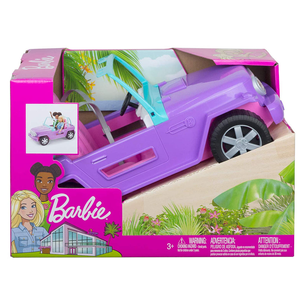 Barbie Off Road Jeep Vehicle