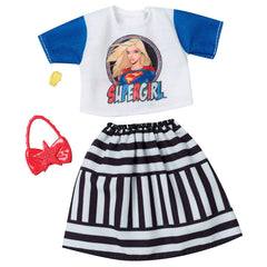 Barbie Supergirl Shirt And Skirt Accessory Set
