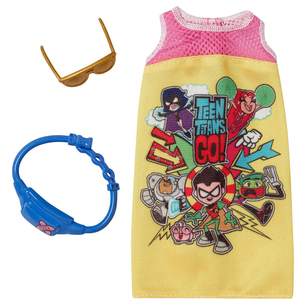 Barbie Teen Titans Go Dress Accessory Set