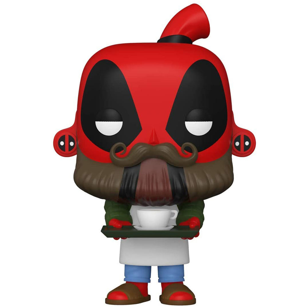 Funko Marvel Deadpool POP Deadpool Barista Vinyl Figure