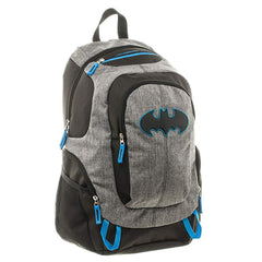 Batman Commuter Blue Gray Black Backpack