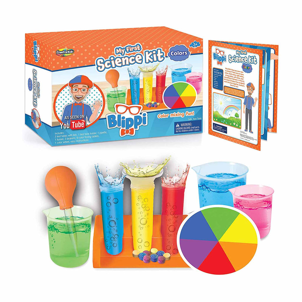 Be Amazing My First Science Kit Color Mixing Fun