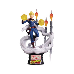 Beast Kingdom D Stage Captain Marvel Diorama Figure