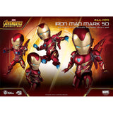 Beast Kingdom Infinity War Egg Attack Iron Man Mark L Figure