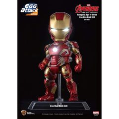 Action Figures - Beast Kingdom Avengers Iron Man Mark 43 Egg Attack 6 Inch Figure