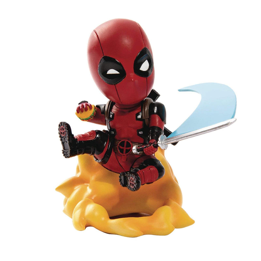 Action Figures - Beast Kingdom Marvel Comics Deadpool Mini Egg Series Attack Ambush Figure