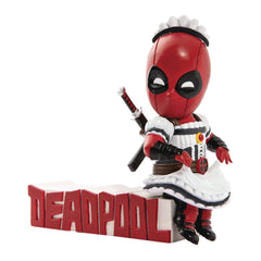 Action Figures - Beast Kingdom Marvel Comics Deadpool Mini Egg Series Attack Servant Figure