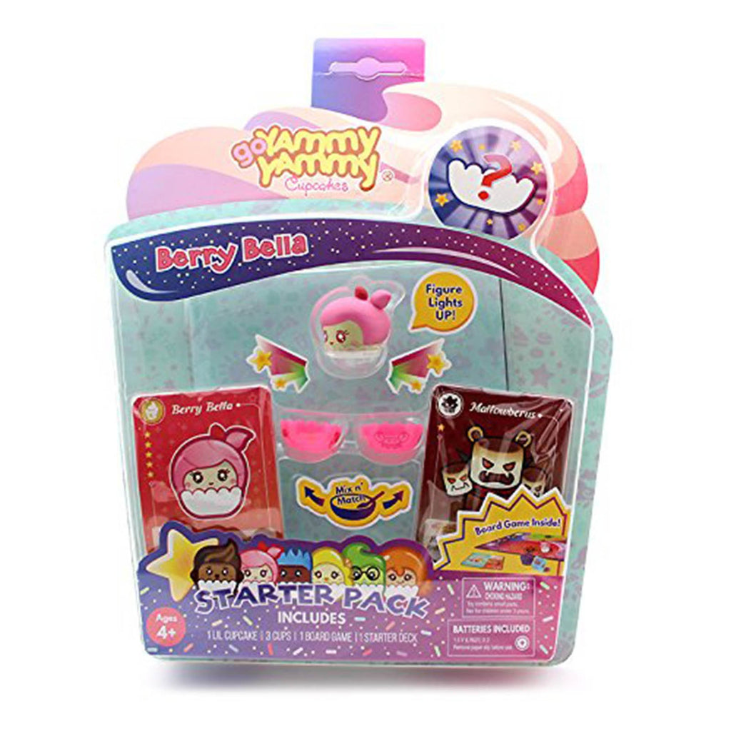 Action Figures - Beecrazee Go Yammy Yammy Cupcakes Berry Bella Starter Pack