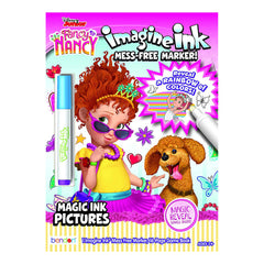Bendon Disney Fancy Nancy Imagine Ink Game Book With Mess Free Marker
