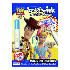 Bendon Disney Toy Story Imagine Ink Game Book With Mess Free Marker