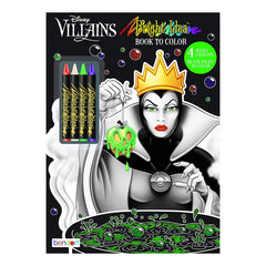 Bendon Disney Villains Bright Idea Coloring Book With Crayons