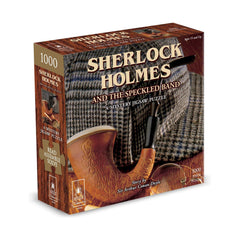 Bepuzzled Sherlock Holmes And The Speckled Band 1000 Mystery Puzzle