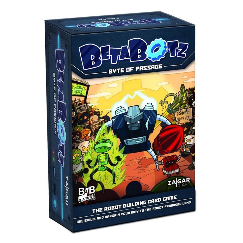 Card Games - Betabotz The Robot Building Card Game