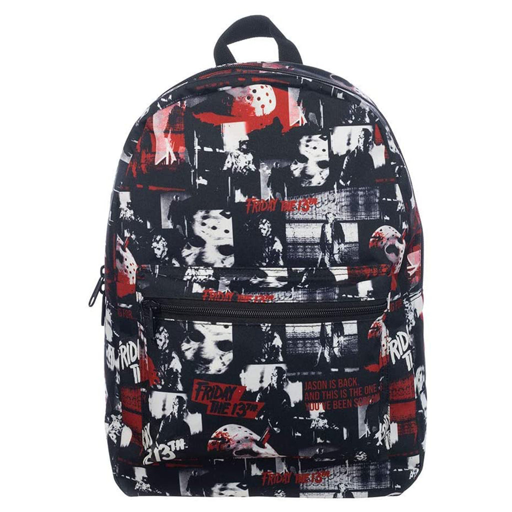 Bioworld Friday The 13th Movie Scenes Backpack