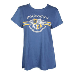 Bioworld Harry Potter Hogwarts Navy Unisex T-Shirt