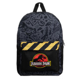 Bioworld Jurassic Park Dinosaur Logo Backpack