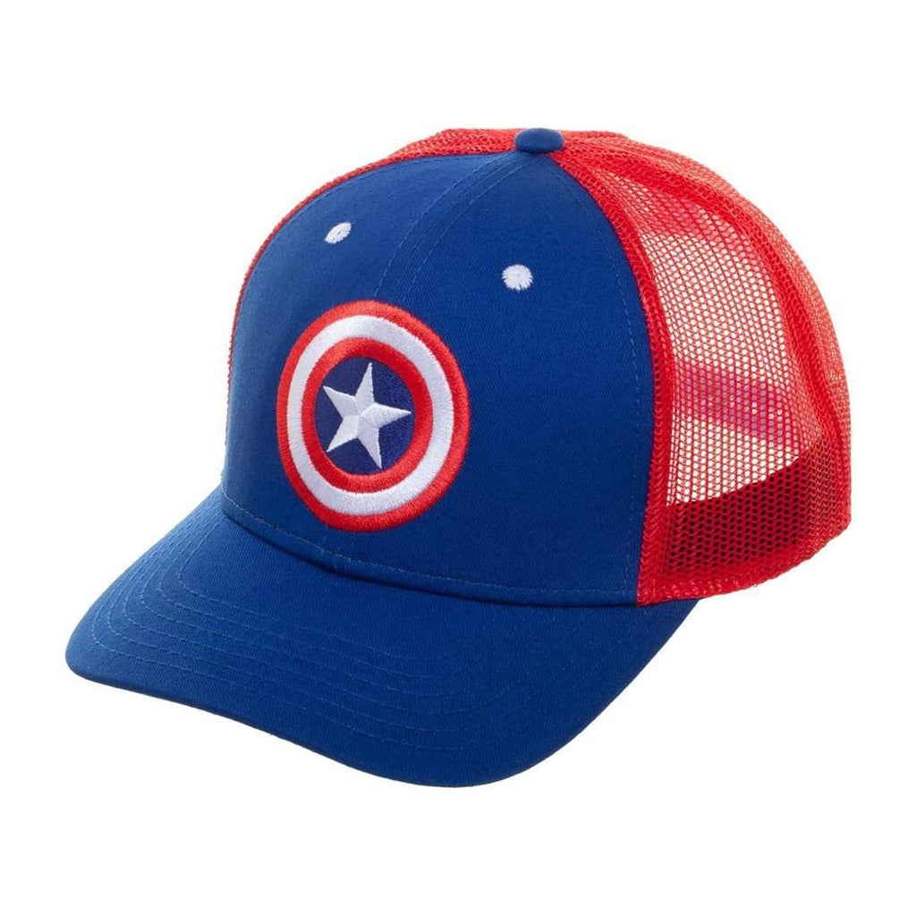 Bioworld Marvel Captain America Shield Snapback Hat