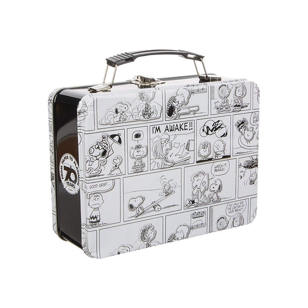 Bioworld Peanuts Comic Strip Metal Lunch Box