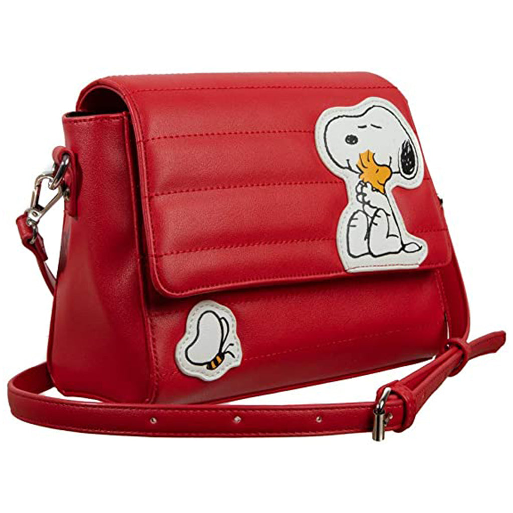 Bioworld Peanuts Snoopy Red Dog House Shoulder Bag Purse