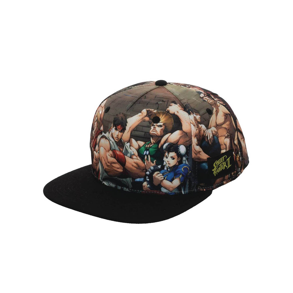Bioworld Street Fighter Characters Snapback Hat
