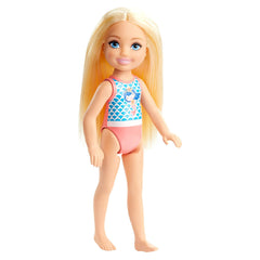 Barbie Club Chelsea Blonde Beach 6 Inch Doll