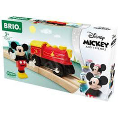 Brio Disney Mickey Mouse Battery Train Set 32265