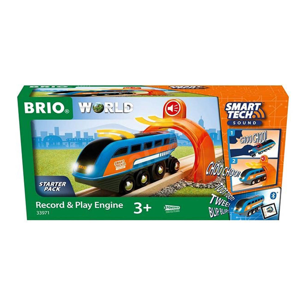 Brio World Record And Play Engine Set