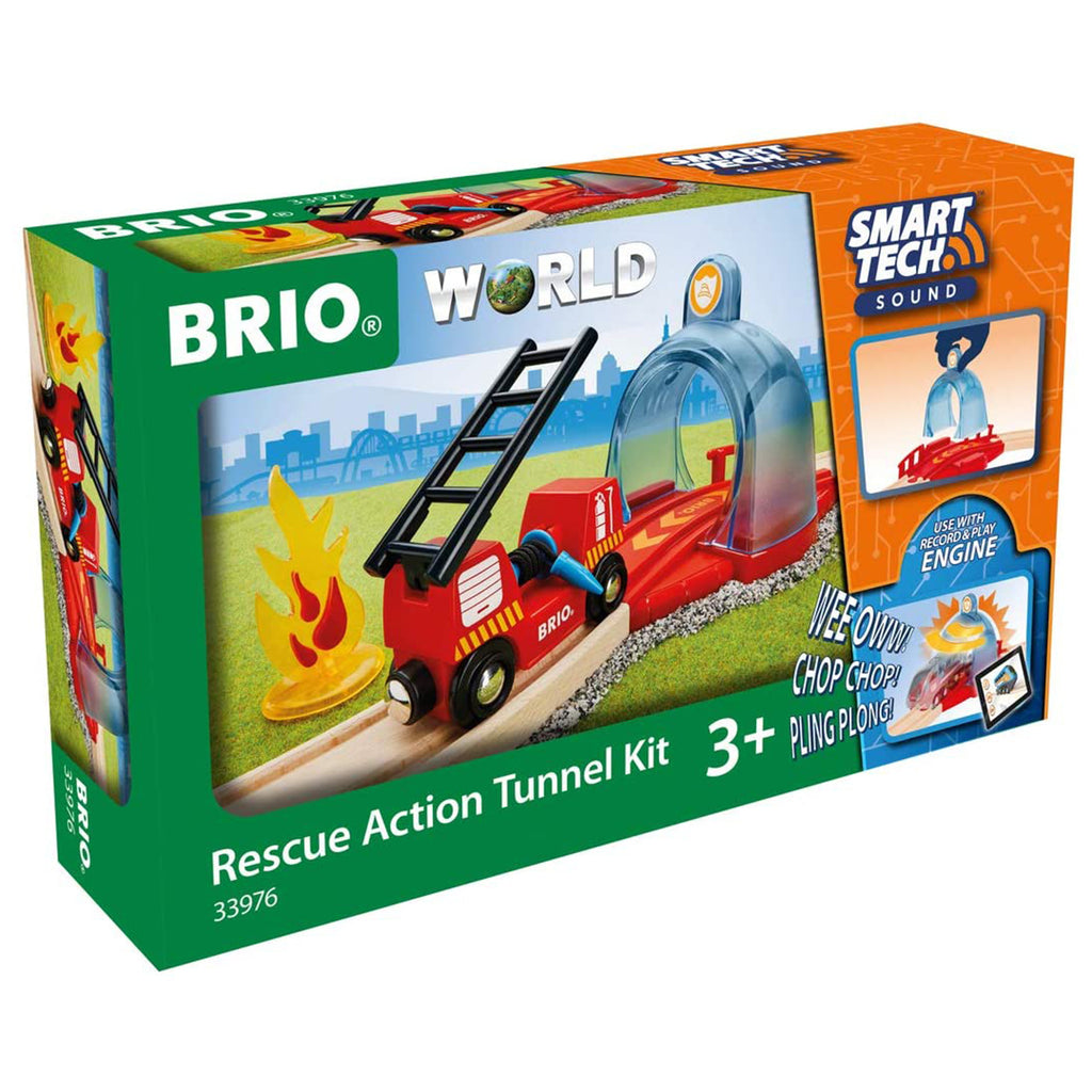 Brio World Rescue Action Tunnel Set