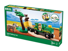 Brio World Safari Railway Set 33720