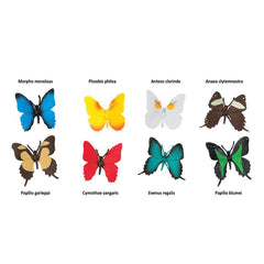 Insect Figures - Butterflies Toob Mini Figures Safari Ltd