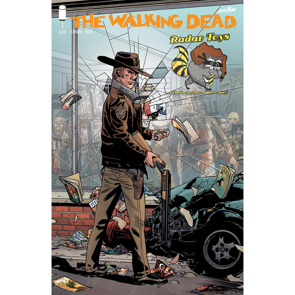 The Walking Dead #1 15th Anniversary Variant Radar Toys Comic