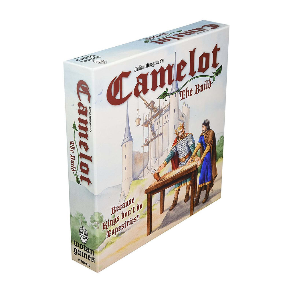 Board Games - Camelot The Build The Board Game