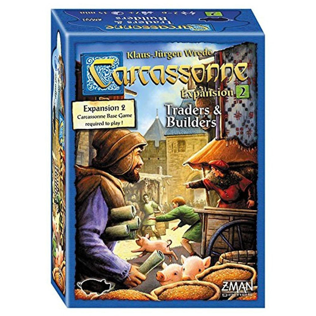 Board Games - Carcassonne Expansion Set 2 Traders And Builders The Board Game